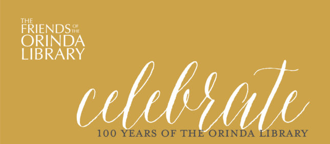 Friends of the Orinda Library 100th Anniversary Celebration