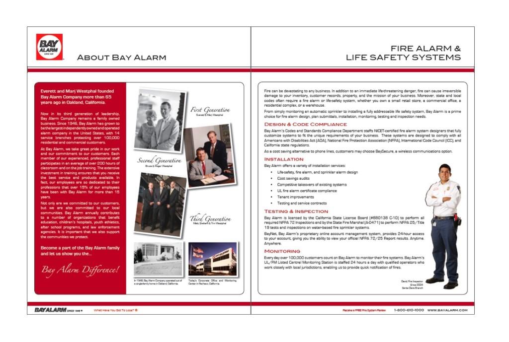Bay Alarm - Fire Services Brochure