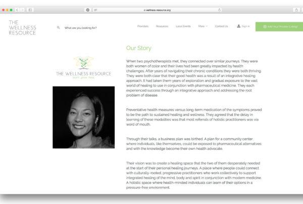 The Wellness Resource Logo - Website