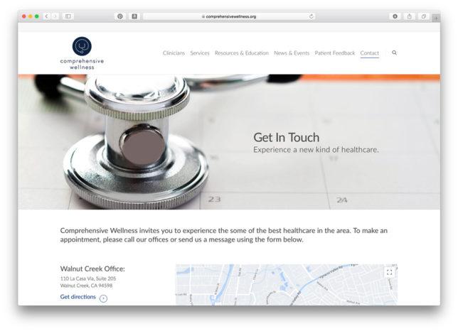 Comprehensive Wellness - Website