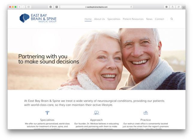 East Bay Brain & Spine Medical Group - Website