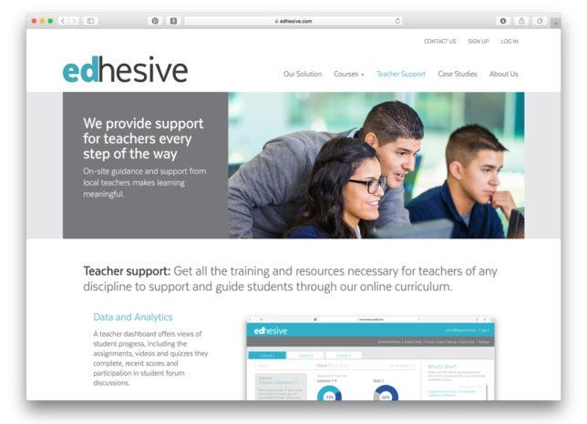 Edhesive - Website