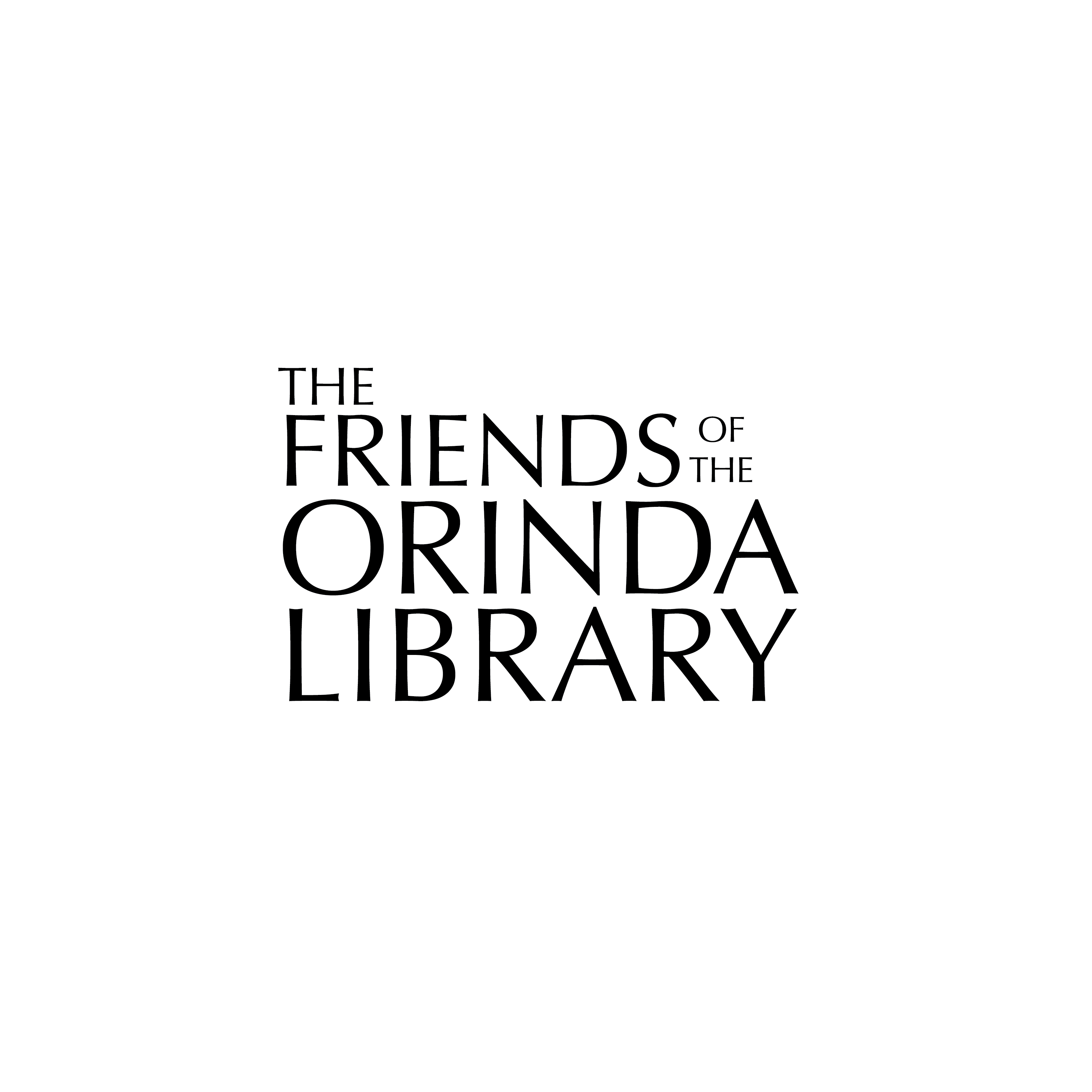 Friends of the Orinda Library Logo