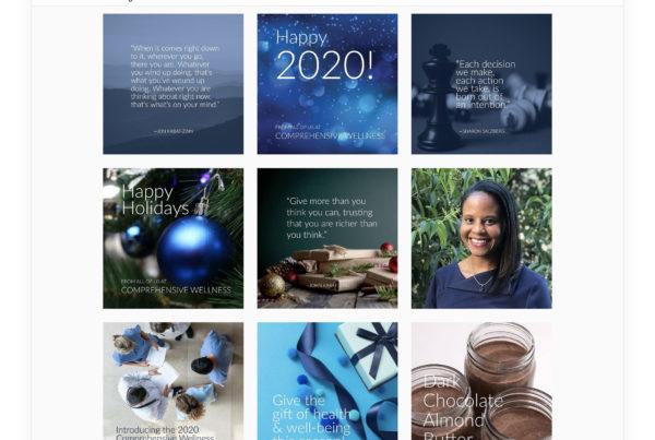 Comprehensive Wellness - Social Media / Instagram Feed