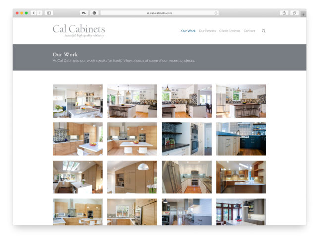 Cal Cabinets - Website
