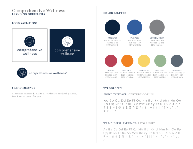 Comprehensive Wellness - Style Guidelines / Brand Assets