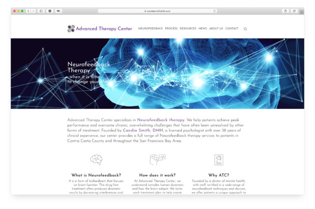 Advanced Therapy Center - Website