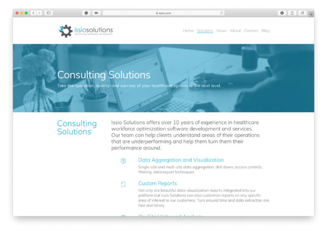 Issio Solutions - Website