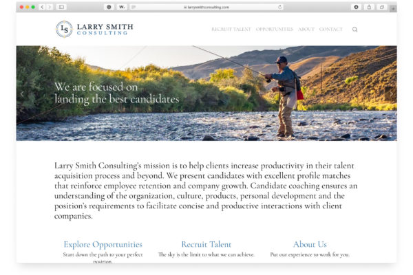 Home Page, Larry Smith Consulting