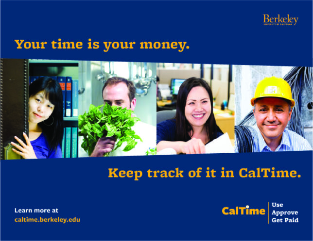 UC Berkeley - CalTime Poster
