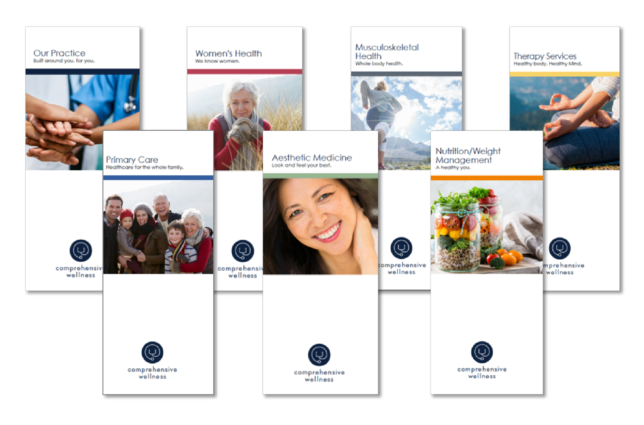 Comprehensive Wellness - Practice Area Brochures / Marketing Collateral