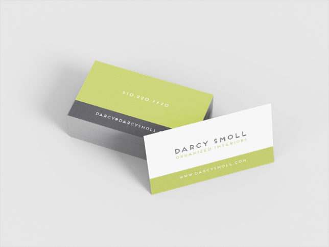 Darcy Smoll - Business Cards