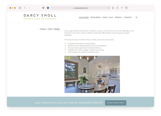 Darcy Smoll - Website Solutions