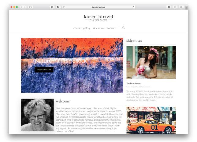 Karen Hirtzel website